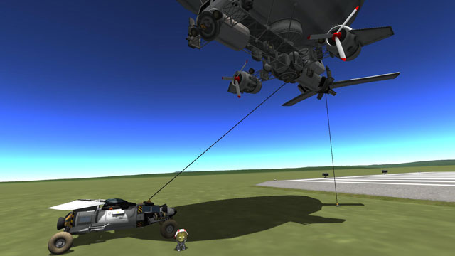 Kerbal Attachment System Mod