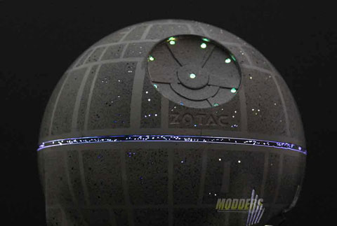 Death Star With Laser Mod