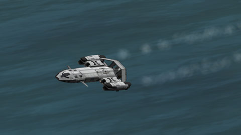 Federation Type F Shuttle