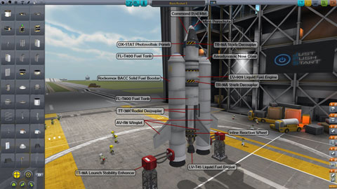 kerbal space program how to make a space station