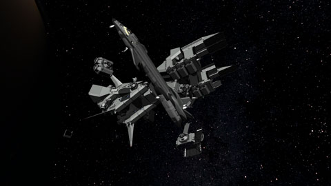 OPT Space Plane Parts V1.7
