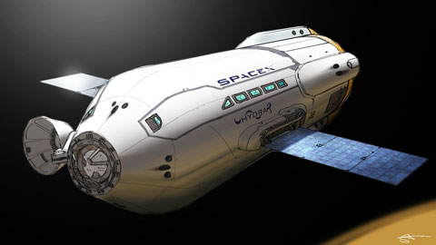 SpaceX Colonial Transporter