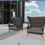 Shimmy's Plaid Wingback Throne Mod For KSP 0.24.2