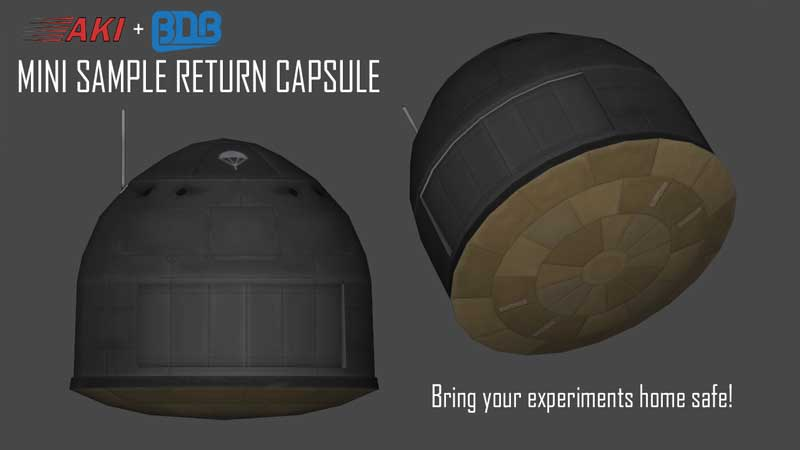 Mini Sample Return Capsule Mod